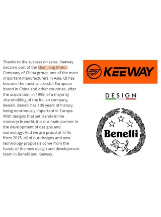 Ведущая звезда Keeway Speed 150, Qjiang