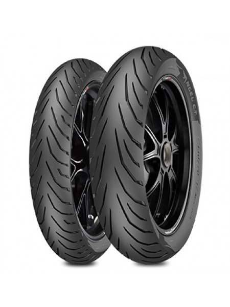 Шина (покрышка) 100/80-14 ANGEL CITY 54S TL REINF M/C задняя (DO 180 KM/H) DOT 05-29/2019, PIRELLI