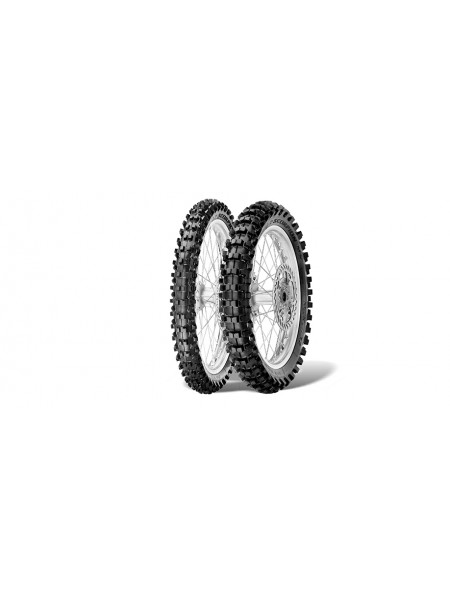 Шина (покрышка) 100/90-19 SCORPION MX32 MID HARD 57M TT задняя DOT 32/2019, PIRELLI