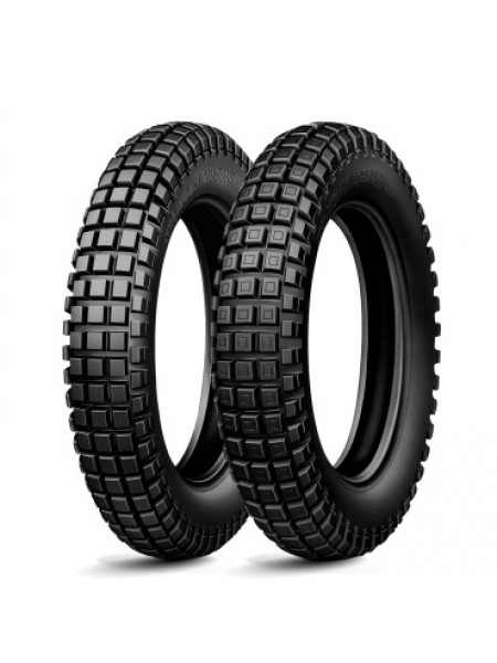 Шина (покрышка) 120/100R18 TRIAL X LIGHT COMPETITION 68M TL M/C задняя DOT 24-42/2018, MICHELIN