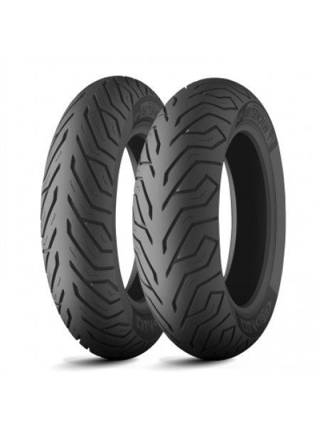 Шина (покрышка) 100/80-10 CITY GRIP 53L TL передняя/задняя DOT 2020, MICHELIN